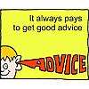 It always pays to get good advice