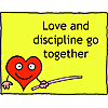 Love and discipline go together