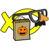 Costumed Christian | Halloween Clip Art
