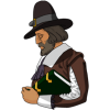 Pilgrim | Thanksgiving Clip Art