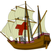 The pilgrim ship the Mayflower