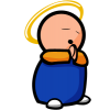 Chubby Prayer | Prayer Clip Art