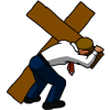Businessman Carrying Cross | Cross Image