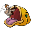 Jonah Swallowed by Fish | Jonah Clip Art