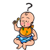 Baby Question | Baby Clip Art