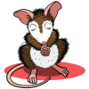 Praying Mouse | Prayer Clip Art