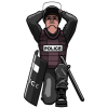 Police Spiritual Armor | Prayer Clip Art