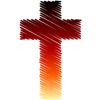 Colored in Cross | Cross Image