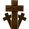 Three Wooden Crosses | Cross Image