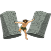 Samson Destroying the Temple | Samson Clip Art