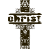 "Cross with the words ""Christ rules"""