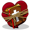 Heart Bound Bible | Bible Clip Art