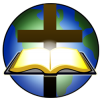 Bible and Cross before Globe | Cross Image