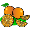 Oranges | Food Clip Art