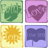 Faith Hope and Love | 1 Corinthians Clip Art