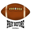 Football Prayer | Prayer Clip Art