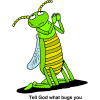Tell God what bugs you