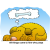 Doggy Prayer | Prayer Clip Art