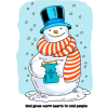 Happy Snowman Image