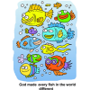 God made every fish in the world different