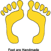 Feet are Handmade