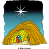 A Star Above Nativity | Christmas Image