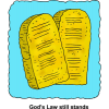Ten Commandment Tablets - Gods Law