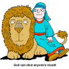 Daniel and the Lion | Daniel Clip Art
