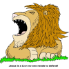 Roaring Lion - Jesus is a Lion no-one needs to defend