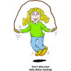 Skipping Rope - Dont skip your daily Bible reading