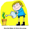 Watering Plant - Give the Water of Life to the young