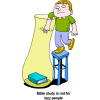 Man reaching for Bible | Bible Clip Art