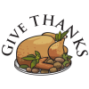 Give Thanks | Thanksgiving Clip Art