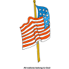 American Flag - All nations belong to God
