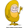 Human Bean - God created human beans