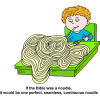 If the Bible was a noodle, it would be one perfect, seamless, continuous noodle
