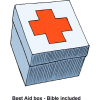 Best First Aid box - Bible included