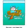 God Bigger than Ocean | God Clip Art