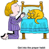 Get into the prayer habit