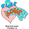 A Pure Love | 1 Timothy Clip Art