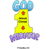 One God and One Mediator | 1 Timothy Clip Art