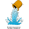 Poured Out For Jesus | 2 Timothy Clip Art