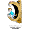 Deliver from the Lions Mouth | Daniel Clip Art