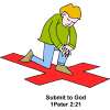Submit to God | 1 Peter Clip Art