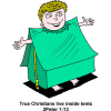Tent of This Body | 2 Peter Clip Art