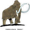 The Mammoth Was Created on the Sixth Day | Creationism Clip Art