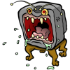 Television Monster | Television Clip Art