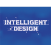 "The words ""INTELLIGENT DESING"" in a drafing, blue print layout"