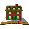 House built on a Bible | Bible Clip Art