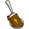 Bible in Spoon | Bible Clip Art